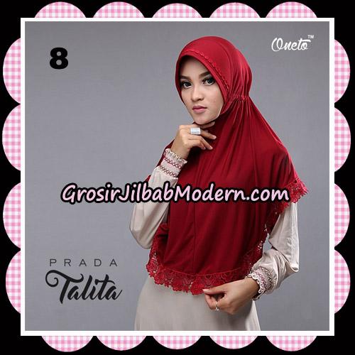 Jilbab Cantik Prada Talita Original By Oneto Hijab Brand No 8