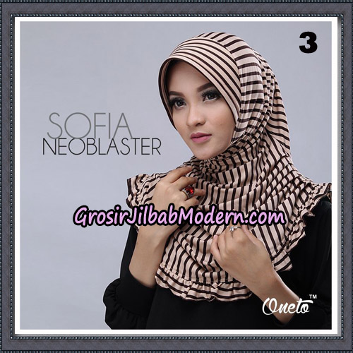 Jilbab Cantik Sofia Neoblaster Original By Oneto Hijab Brand No 3