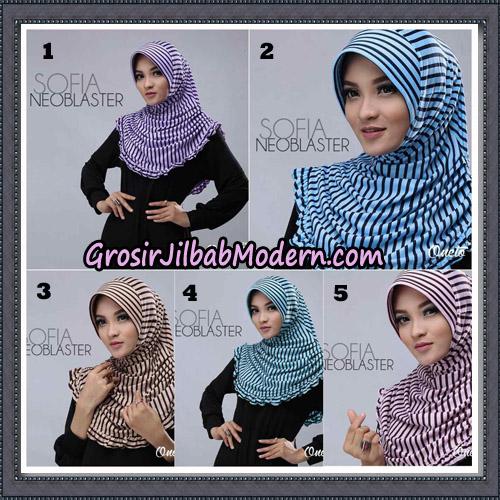 Jilbab Cantik Sofia Neoblaster Original By Oneto Hijab Brand