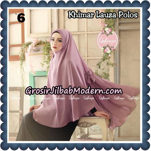 Jilbab Syari Khimar Lauza Polos Original by Qalisya Hijab Brand No 6