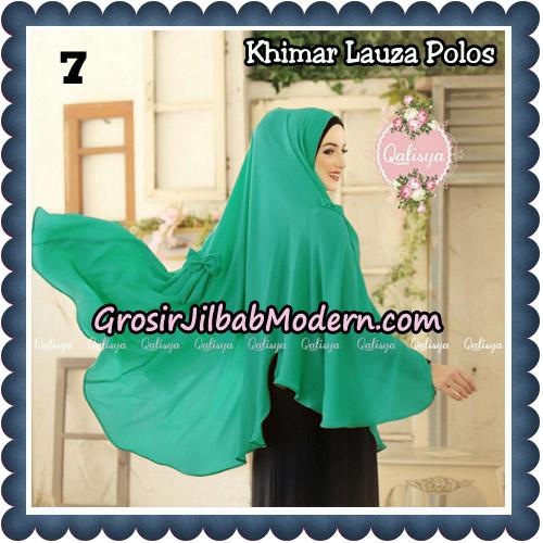 Jilbab Syari Khimar Lauza Polos Original by Qalisya Hijab Brand No 7