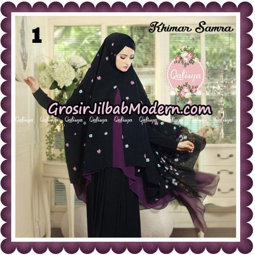 Jilbab Syari Khimar Samra Original by Qalisya Hijab Brand No 1