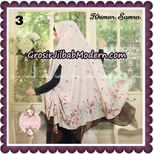 Jilbab Syari Khimar Samra Original by Qalisya Hijab Brand No 3