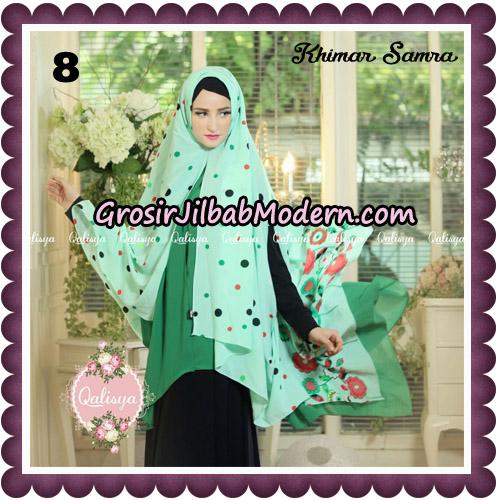 Jilbab Syari Khimar Samra Original by Qalisya Hijab Brand No 8