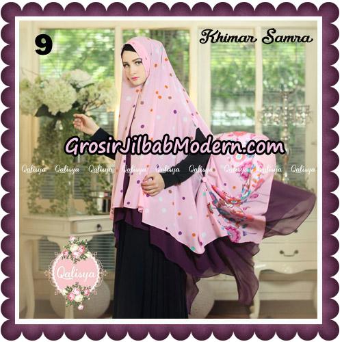 Jilbab Syari Khimar Samra Original by Qalisya Hijab Brand No 9
