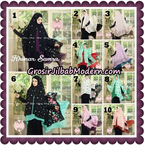 Jilbab Syari Khimar Samra Original by Qalisya Hijab Brand
