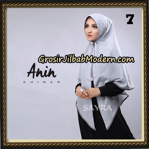 Jilbab Instant Anin Khimar Original By Sayra Hijab Brand No 7