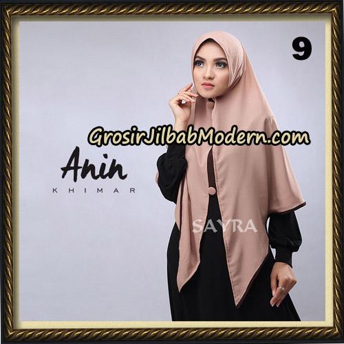 Jilbab Instant Anin Khimar Original By Sayra Hijab Brand No 9