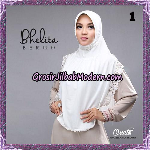Jilbab Instant Bhelita Bergo Original By Oneto Hijab Brand No 1