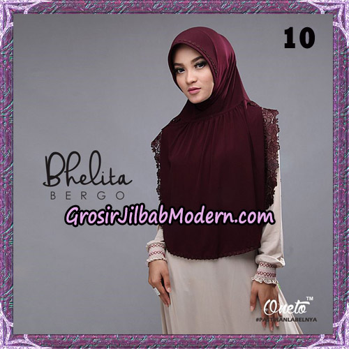 Jilbab Instant Bhelita Bergo Original By Oneto Hijab Brand No 10