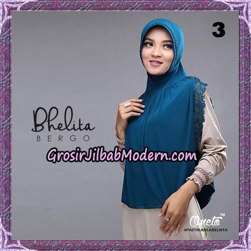 Jilbab Instant Bhelita Bergo Original By Oneto Hijab Brand No 3
