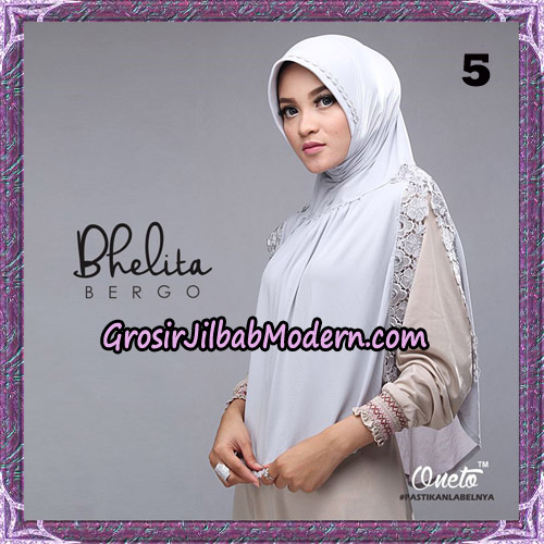 Jilbab Instant Bhelita Bergo Original By Oneto Hijab Brand No 5