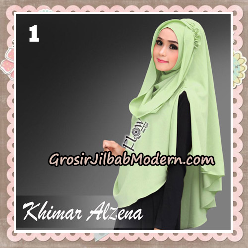 Jilbab Instant Cantik Khimar Alzena Original By Flow Idea No 1