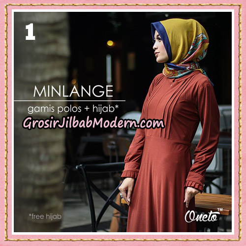 setelan-gamis-polos-dan-hijab-minlange-original-by-almia-brand-no-1