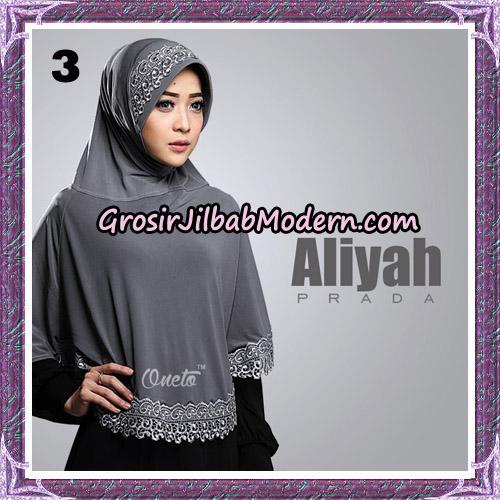 Jilbab Cantik Aliyah Prada Original By Oneto Hijab Brand No 3