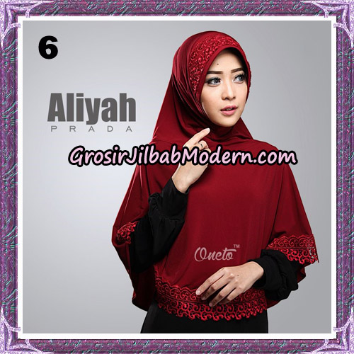 Jilbab Cantik Aliyah Prada Original By Oneto Hijab Brand No 6