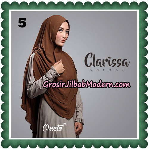Jilbab Cantik Clarissa Khimar Original By Oneto Hijab No 5