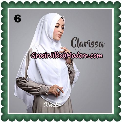 Jilbab Cantik Clarissa Khimar Original By Oneto Hijab No 6