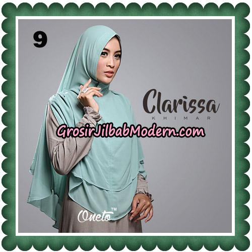 Jilbab Cantik Clarissa Khimar Original By Oneto Hijab No 9