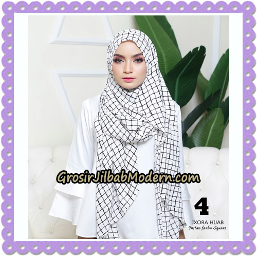 Jilbab Instant Cantik Farha Square Original by Ixora Hijab Brand No 4