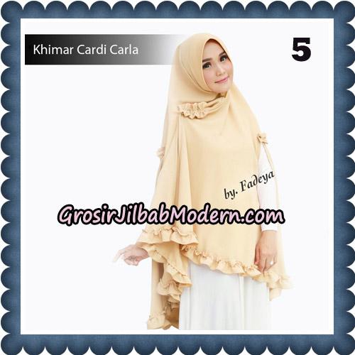 Jilbab Khimar Cardi Carla Original By Fadeya Brand No 5