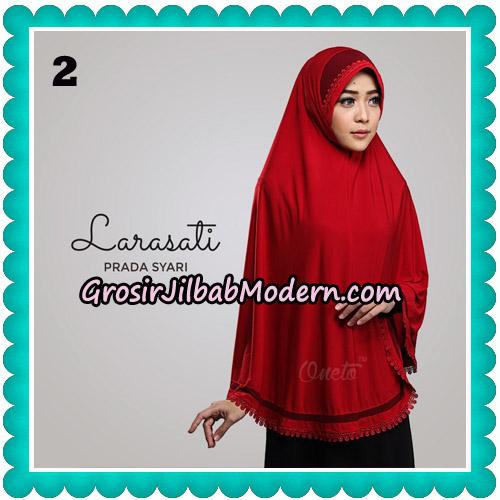 Jilbab Cantik Prada Syari Larasati Original By Oneto Hijab Brand No 2