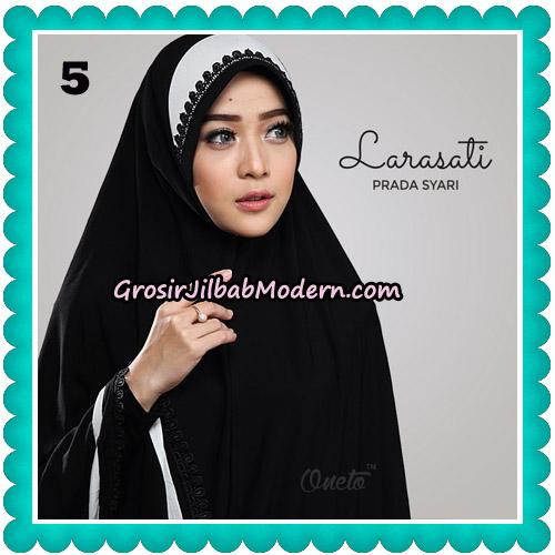 Jilbab Cantik Prada Syari Larasati Original By Oneto Hijab Brand No 5