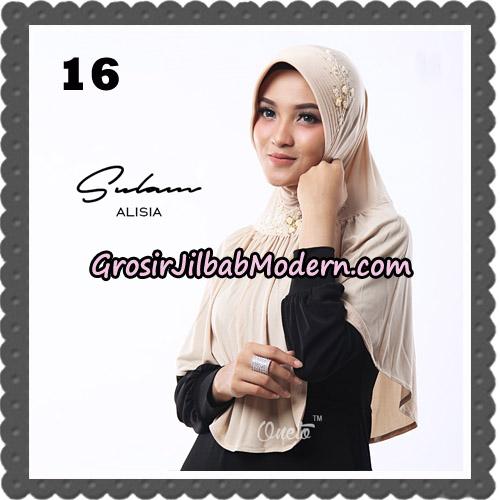 Jilbab Cantik Sulam Alisia Original By Oneto Hijab Brand No 16