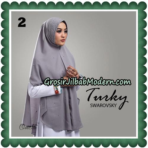 Jilbab Cantik Turky Swarovsky Original By Oneto Hijab No 2