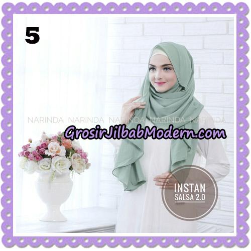 Jilbab Instant Salsa 2 Original By Narinda Hijab Brand No 5