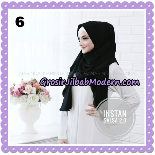 Jilbab Instant Salsa 2 Original By Narinda Hijab Brand No 6
