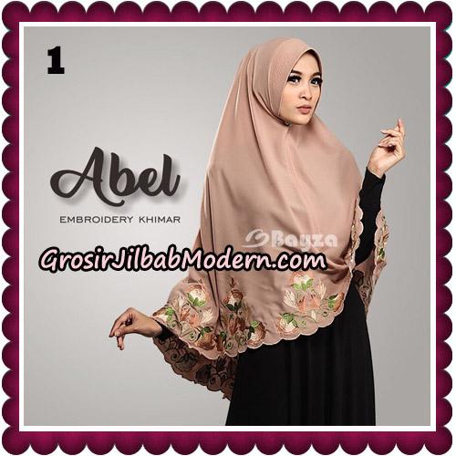 Jilbab Cantik Abel Embroidery Khimar Original By Bayza Hijab Brand No 1