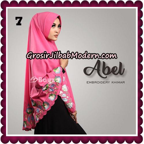 Jilbab Cantik Abel Embroidery Khimar Original By Bayza Hijab Brand No 7