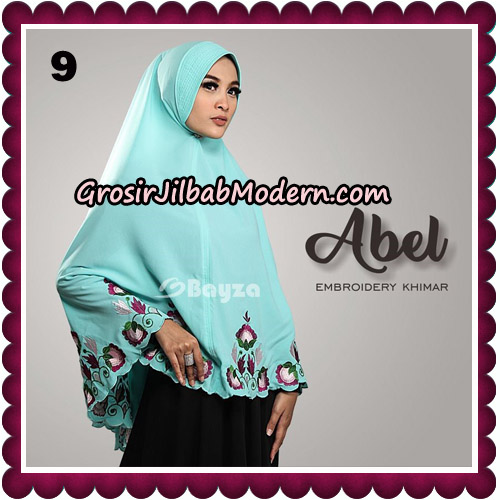 Jilbab Cantik Abel Embroidery Khimar Original By Bayza Hijab Brand No 9