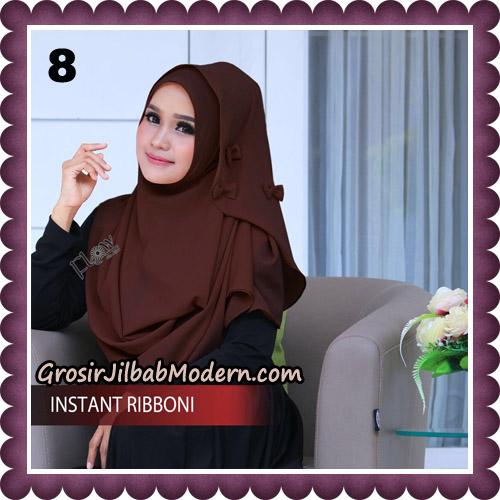 Jilbab Cantik Instant Ribboni Original By Flow Idea Hijab No 8