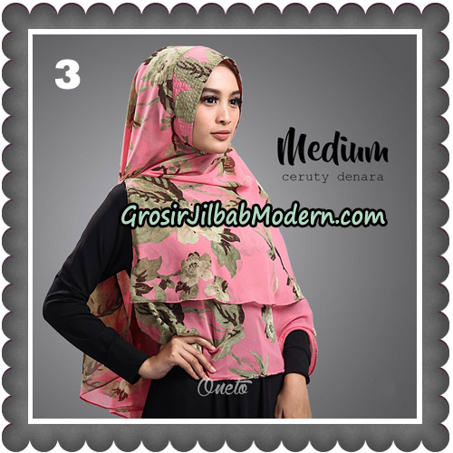 Jilbab Cantik Medium Ceruty Denara Original By Oneto Hijab No 3