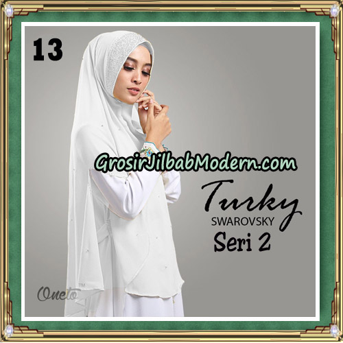 Jilbab Cantik Turky Swarovsky Seri 2 Original By Oneto Hijab No 13