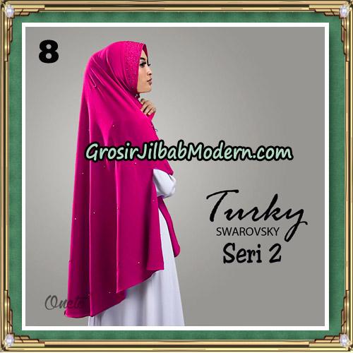 Jilbab Cantik Turky Swarovsky Seri 2 Original By Oneto Hijab No 8