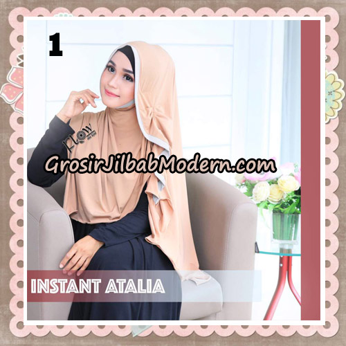 Jilbab Instant Atalia Original By Flow Idea Hijab No 1