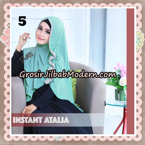 Jilbab Instant Atalia Original By Flow Idea Hijab No 5
