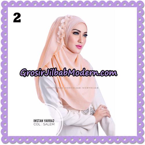 Jilbab Instant Yarra 2 Original by Ivory Hijab Brand No 2