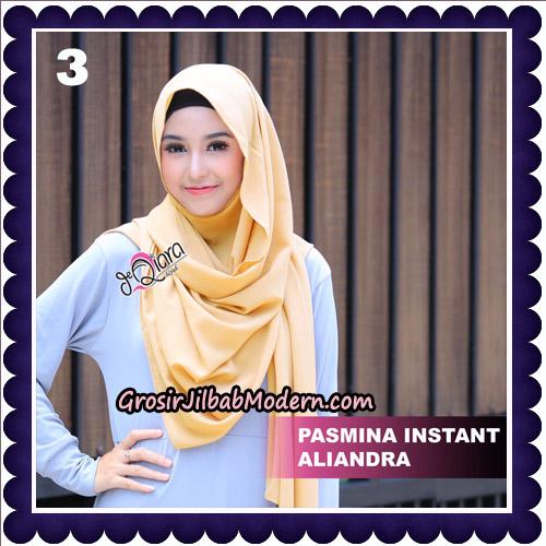 Jilbab Pashmina Instant Aliandra Original By deQiara Hijab Brand No 3