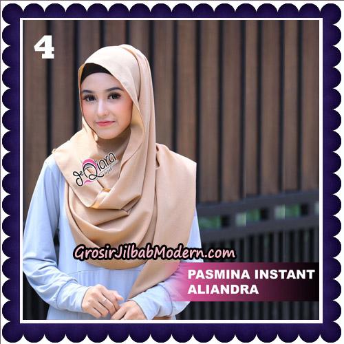 Jilbab Pashmina Instant Aliandra Original By deQiara Hijab Brand No 4