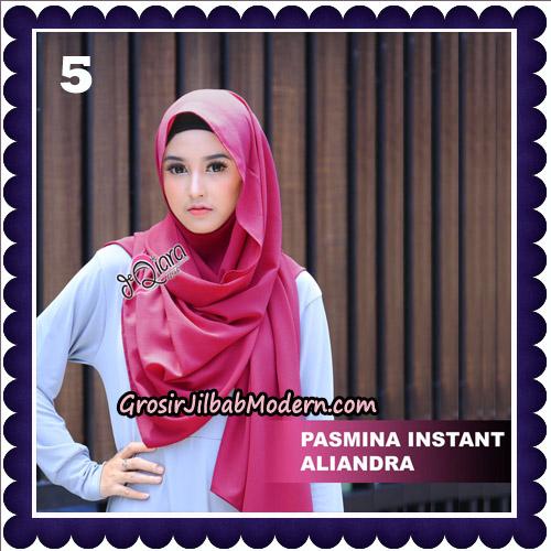 Jilbab Pashmina Instant Aliandra Original By deQiara Hijab Brand No 5