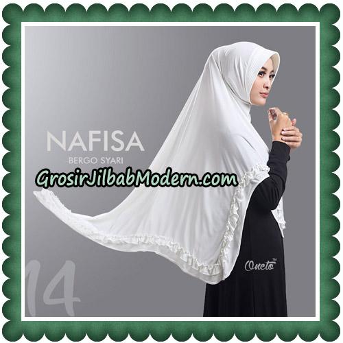Jilbab Cantik Nafisa Bergo Syari Original By Oneto Hijab No 14