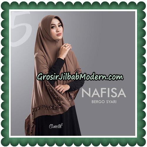 Jilbab Cantik Nafisa Bergo Syari Original By Oneto Hijab No 5