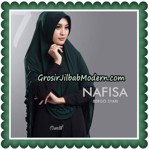 Jilbab Cantik Nafisa Bergo Syari Original By Oneto Hijab No 7