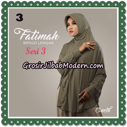 Jilbab Instant Cantik Bergo Lengan Fatimah Seri 3 Support Oneto No 3