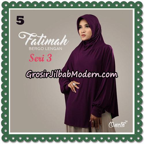 Jilbab Instant Cantik Bergo Lengan Fatimah Seri 3 Support Oneto No 5