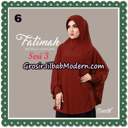 Jilbab Instant Cantik Bergo Lengan Fatimah Seri 3 Support Oneto No 6